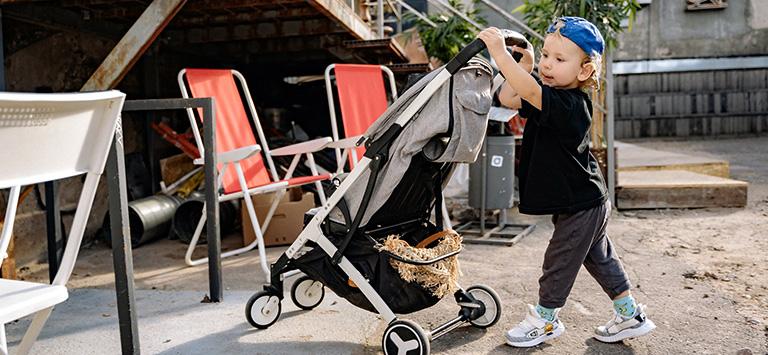 Goede buggy voor baby