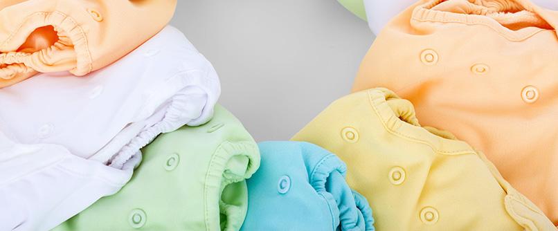 herbruikbare luiers voor baby's