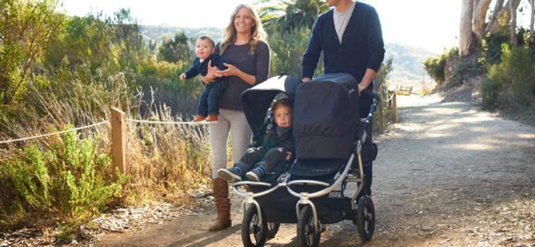 kinderwagen voor tweeling