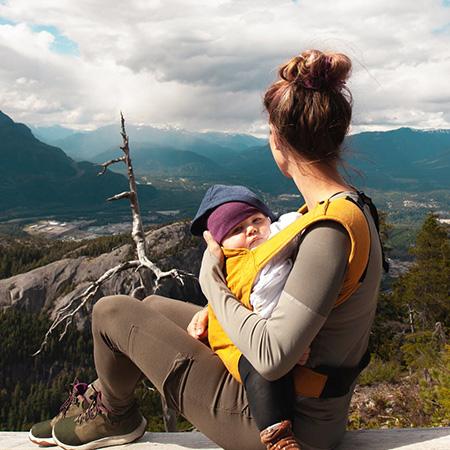 Baby dragen op buik of rug