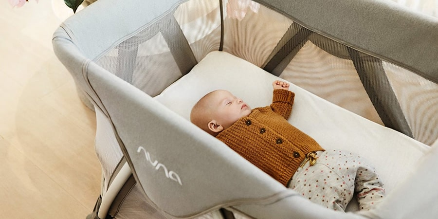 babybed kinderbox met lade