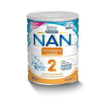 Nestle Nan onverzadigbare baby voeding