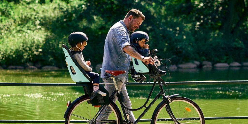Beste fietsstoeltje baby en kinderen