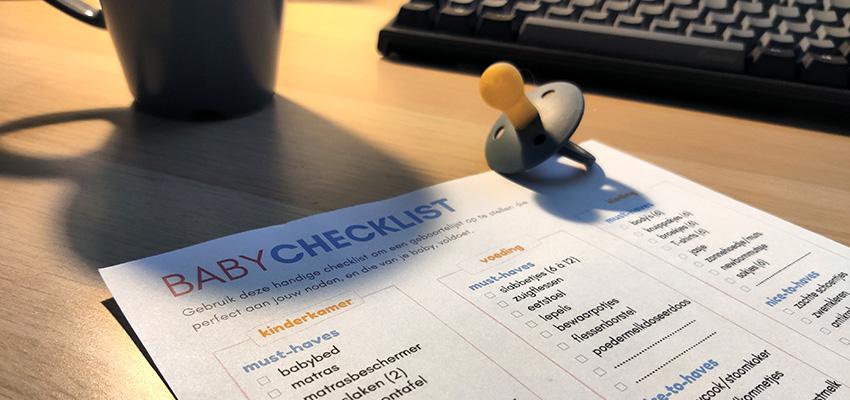 handige checklist voor ouders