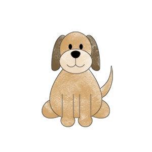 honden kleurplaat inkleuren