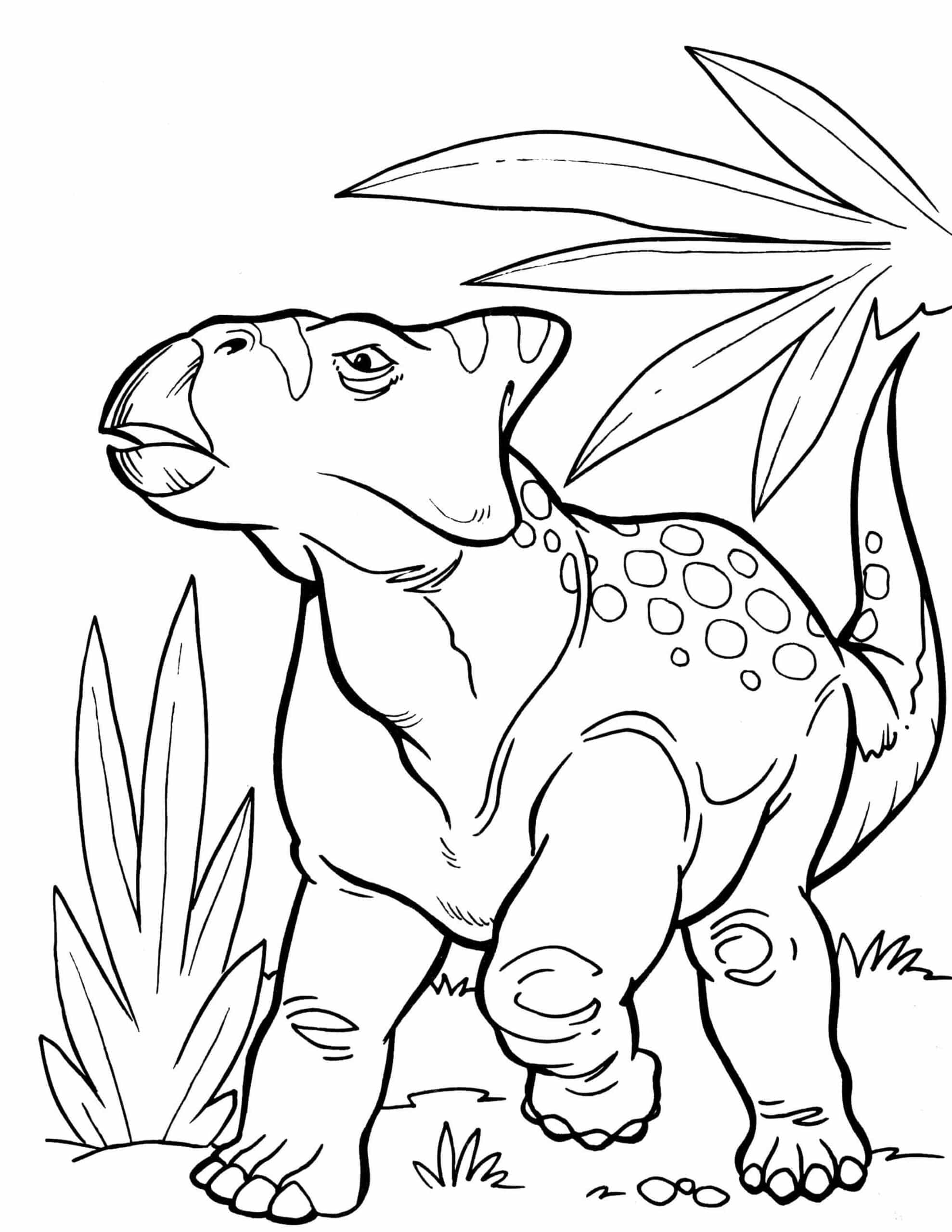 kinderen tekenen dinosaurus