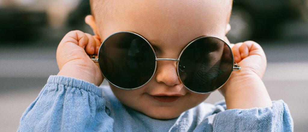 Beste zonnebril voor baby's